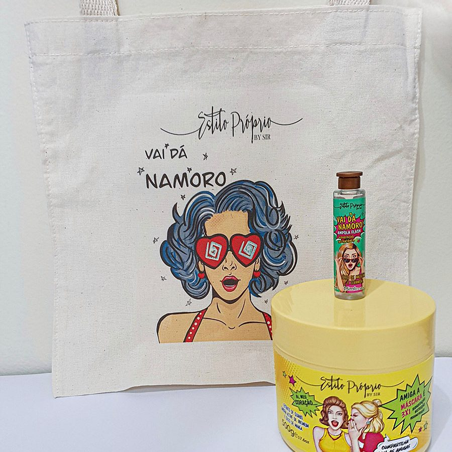 Kit Ampola + Mascara + Ecobag