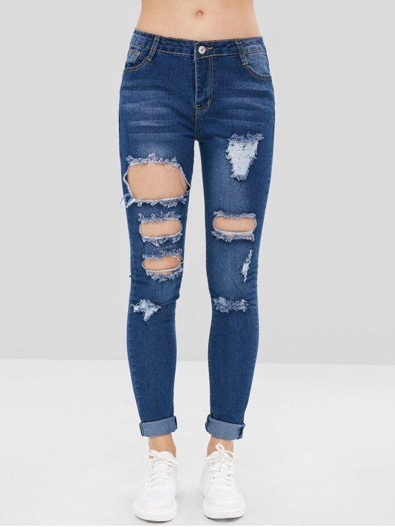 Calça jeans fashion