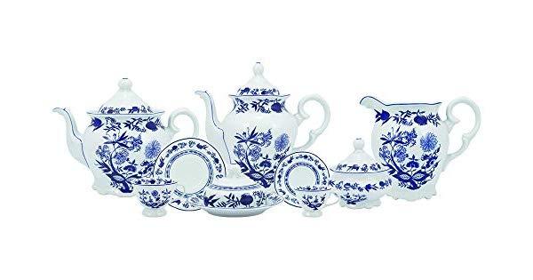 Serviço de chá café 53 peças em porcelana