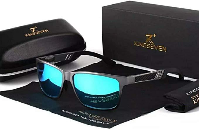 Óculos De Sol Kingseven Polarizado Anti Reflexo