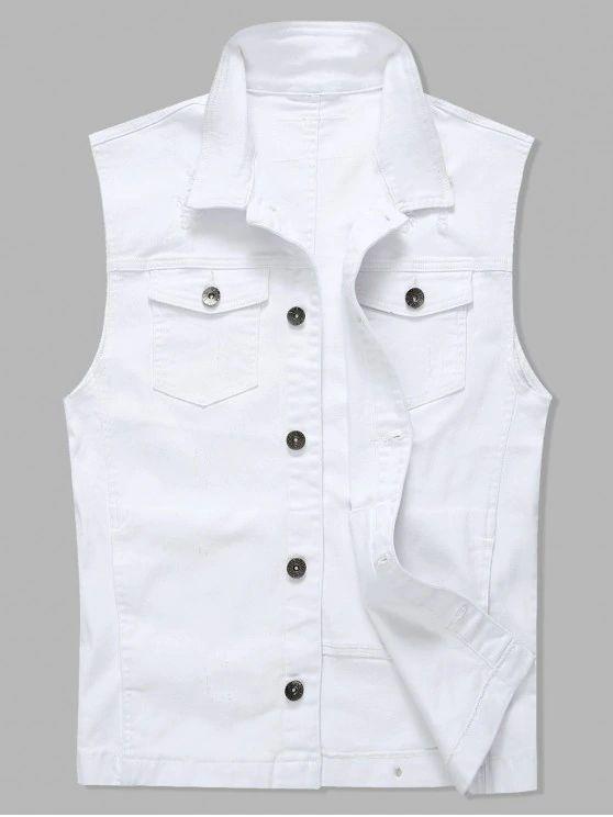 Jaqueta branca  tumblr