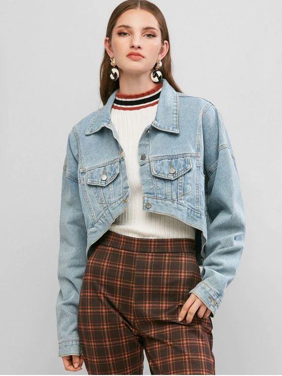 Jaqueta jeans tumblr