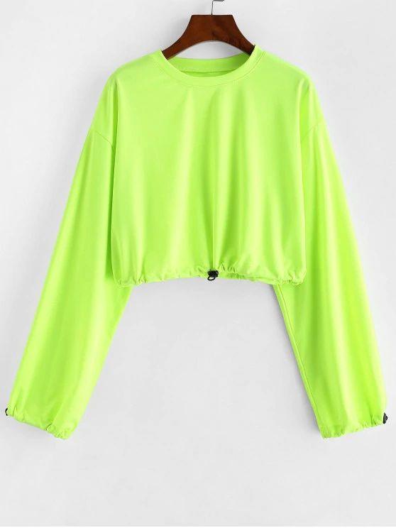 Blusa neon verde