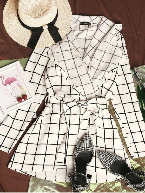 jaqueta tumblr quadriculada
