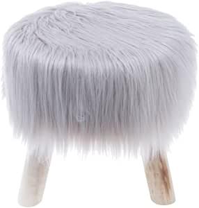 Puff Madeira /Poliéster Fur