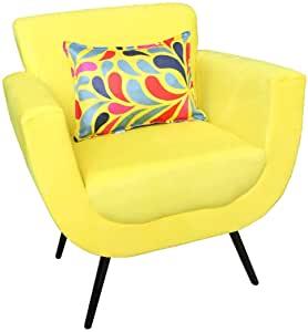 Poltrona Cely (Amarelo)