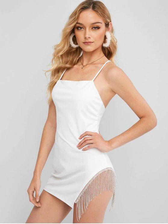 vestido branco tumblr