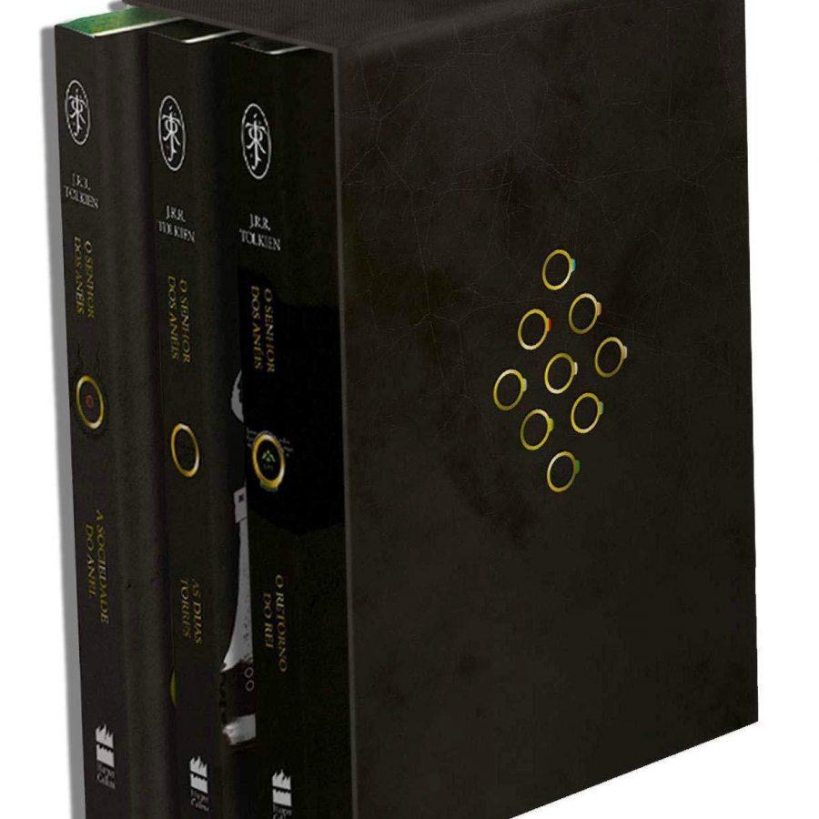 Box Trilogia O Senhor dos Anéis (Português)