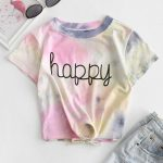 camiseta tie dye – happy