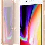 iPhone 8  Dourado  Tela de 4,7″, 4G, 64 GB e Câmera de 12 MP