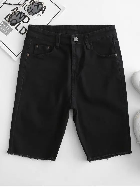 Short jeans – preto