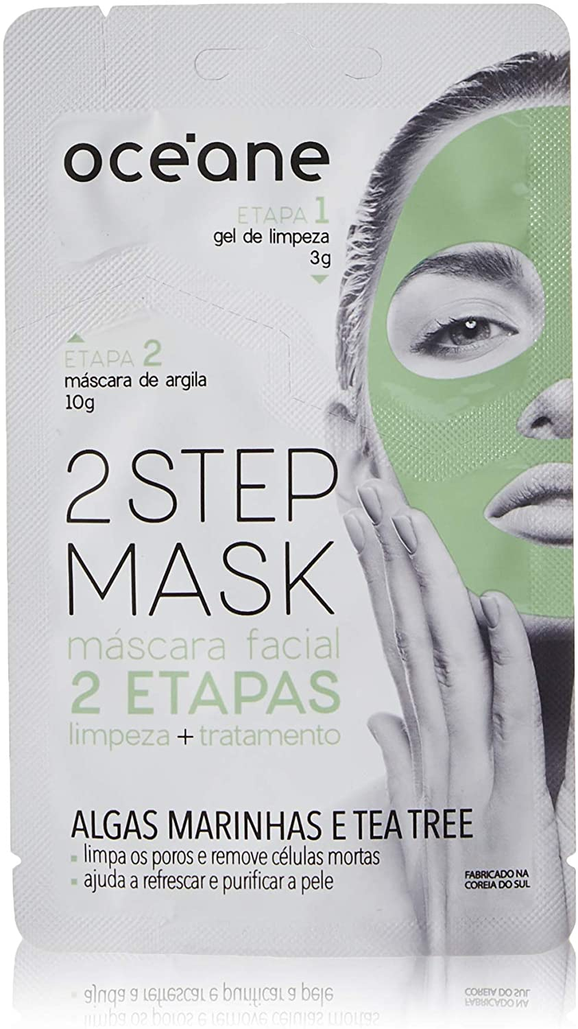 Máscara Facial 2 Etapas Dual-Step