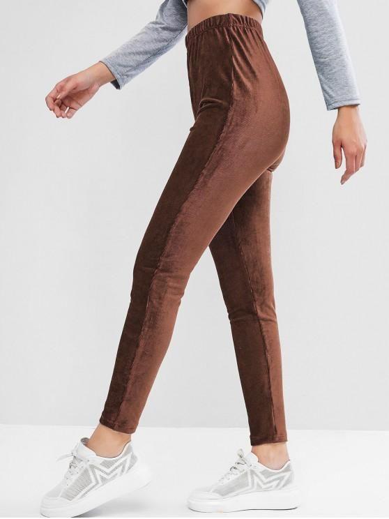 Calça veludo – marrom