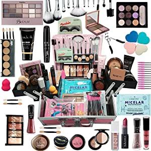 Maleta Kit De Maquiagem Completa