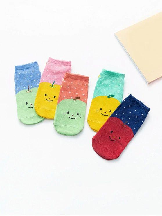 pares de meia coloridas lindas