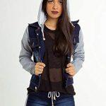Jaqueta Jeans Com Touca e