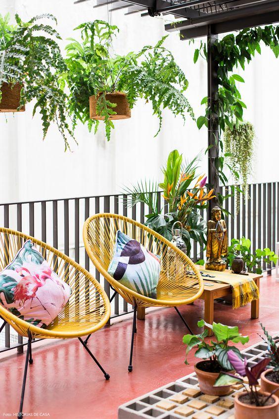 2 Cadeira Acapulco Amarela