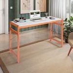 Mesa de Escritório Adrian Siena Móveis Branco/Mel