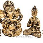 Kit Mini Estátua Ganesha