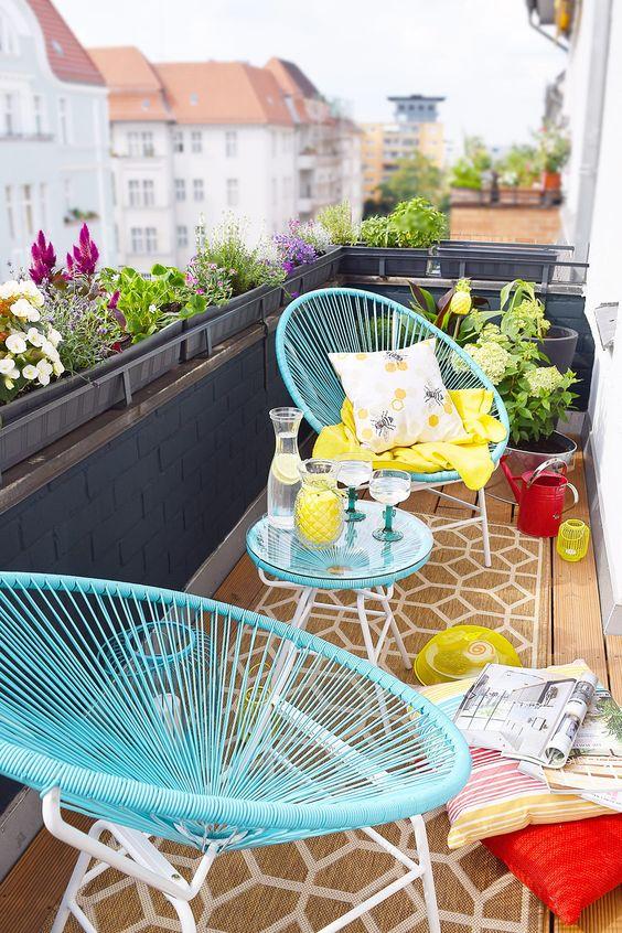 2 Cadeira Acapulco Verde Tiffany Decoradeira