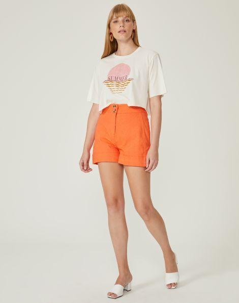 Shorts Sarja Feminino –