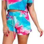 Conjunto moda tie dye blusa