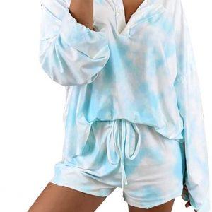 Conjunto tie dye pijama para o dia a dia