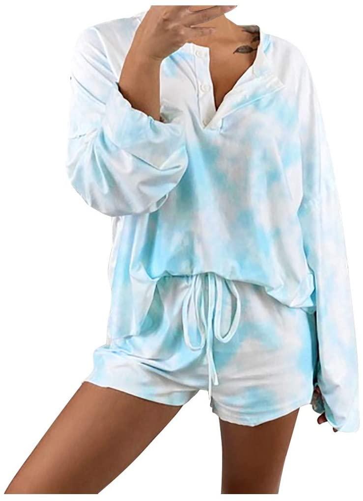 Conjunto tie dye pijama para