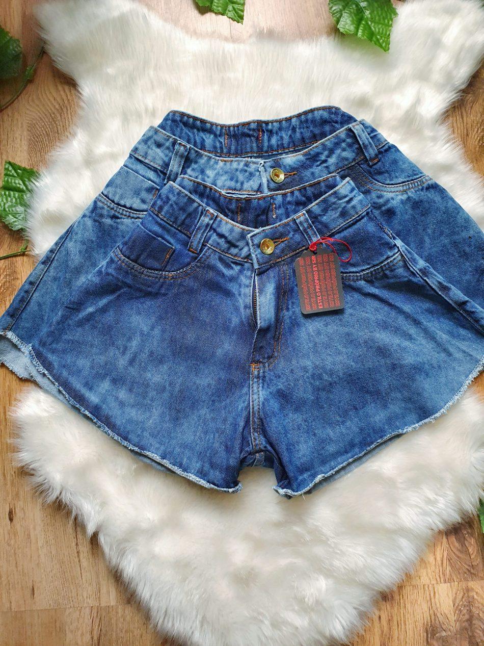 short Godê Jeans