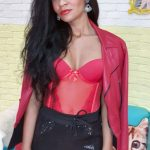 conjunto corselet meia e calcinha