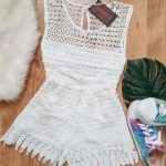 CONJUNTO CROPPED E SHORT RENDA