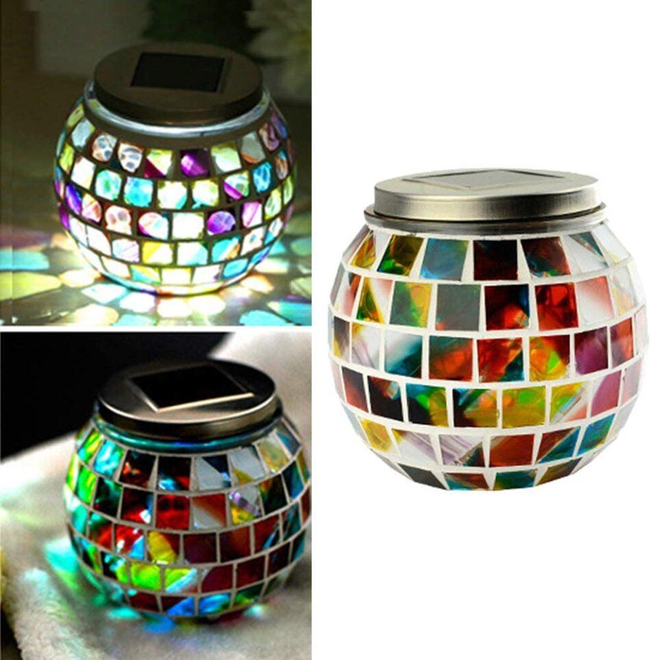 Lâmpada para jarra de vidro