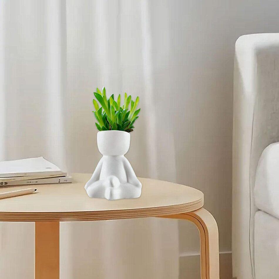 Vaso De Cerâmica De Meditação