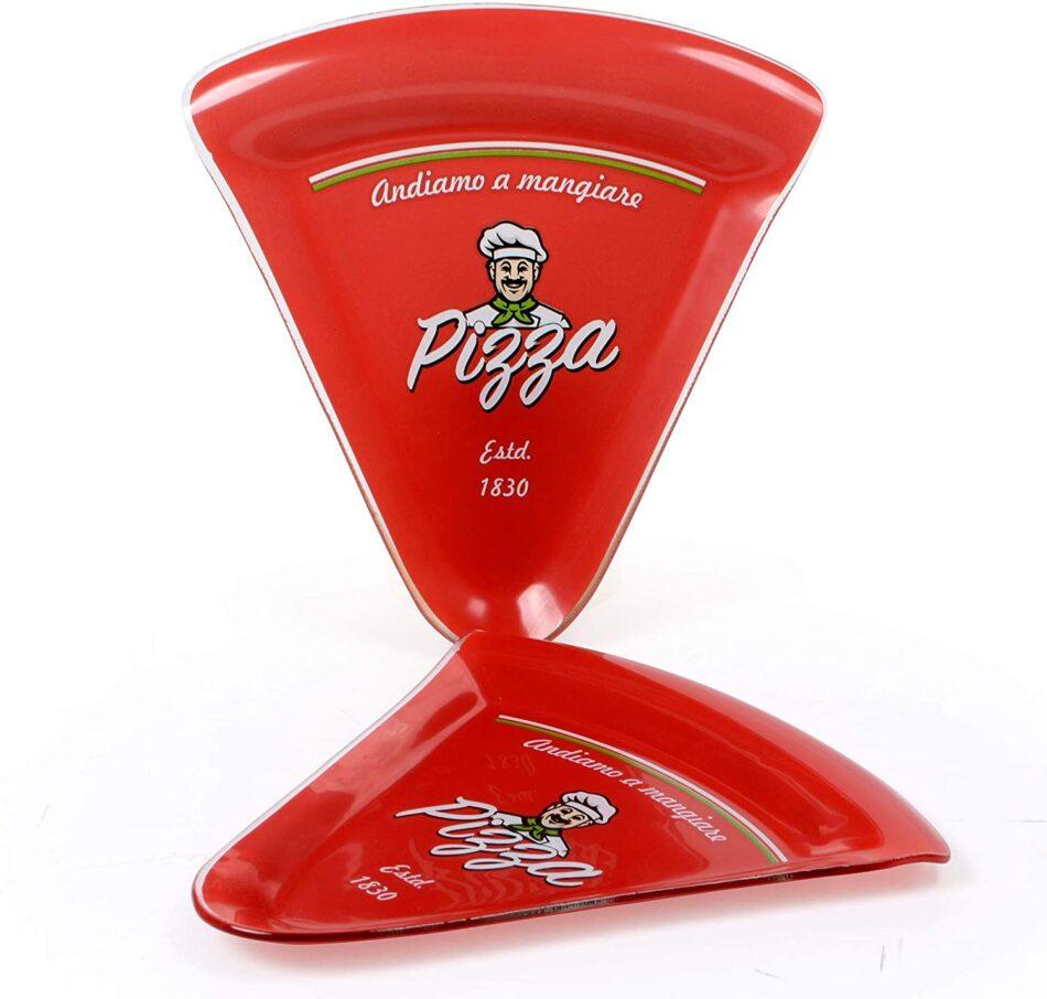 2 Pratos De Vidro Pizza –
